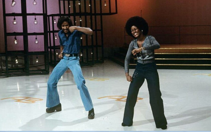 Tyrone Proctor and dance partner Sharon Hill