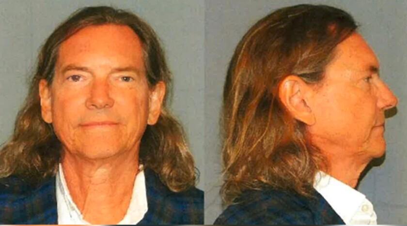 Booking photos of Bill Hutchinson