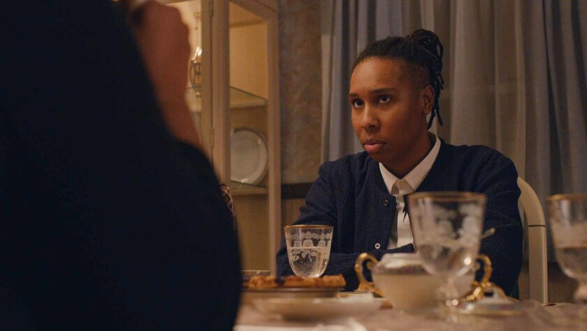 "Lena Waithe in an episode of Netflix's ""Master of None,"" written by Ansari and Waithe."