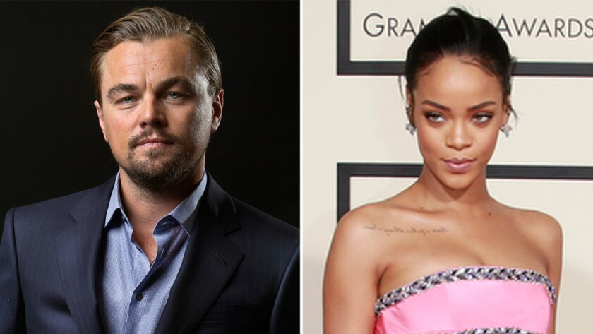 Leonardo Di Caprio, Rihanna