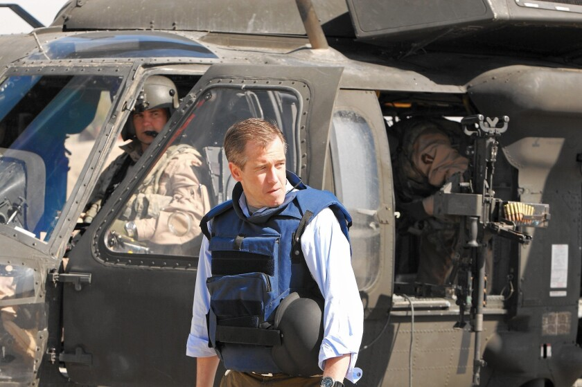 "Brian Williams, then the anchor and managing editor of ""NBC Nightly News,"" reports from Iraq in 2007."