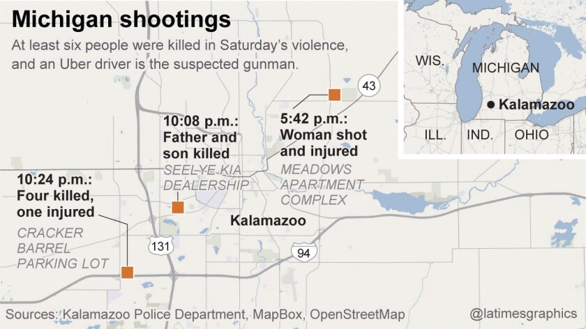 Kalamazoo, Mich., shootings