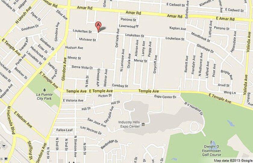 Man killed in La Puente traffic stop