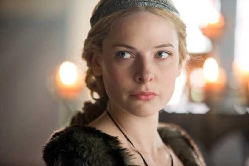 "Rebecca Ferguson  in ""The White Queen"" on Starz"