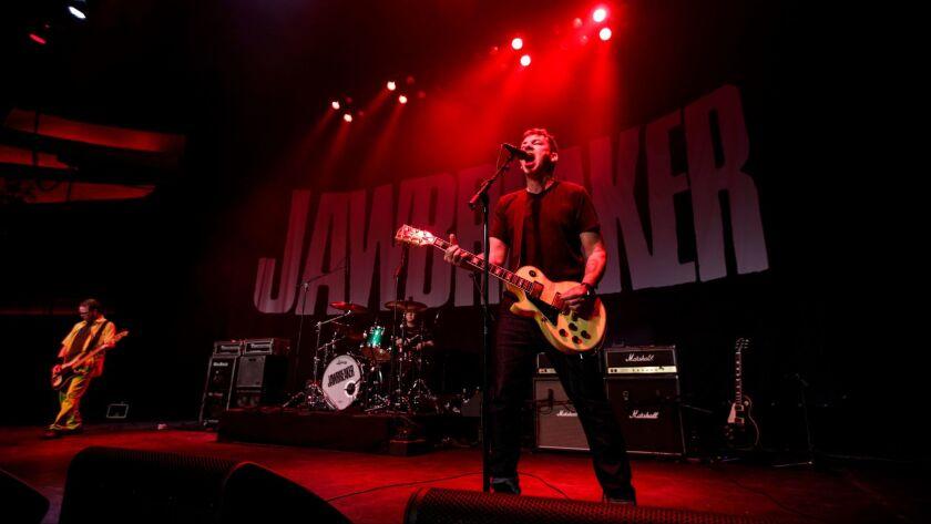 Jawbreaker performs Thursday night at the Palladium in Hollywood.