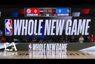 A look inside the NBA Bubble