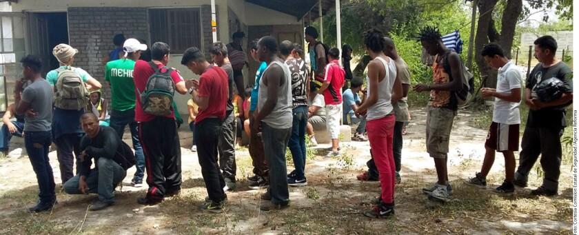 Foto de archivo. Hace dos semanas, también fueron detenidos un grupo de migrantes en el estado de Coahuila, la mayoría era de El Salvador y el resto provenientes de Honduras.
