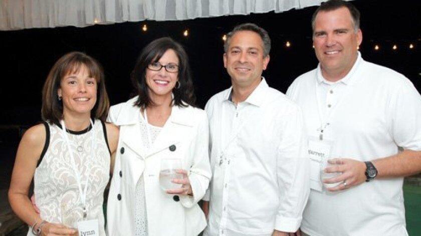 Lynn Frank, Terri Corduan, Todd Frank, Garrett Corduan