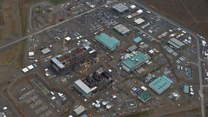 Nation's most ambitious project to clean up nuclear weapons waste has stalled at Hanford