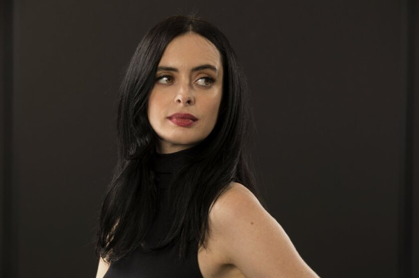 """Krysten Ritter relies on her character's troubled back story to get into the title role of """"Jessica Jones."""""""