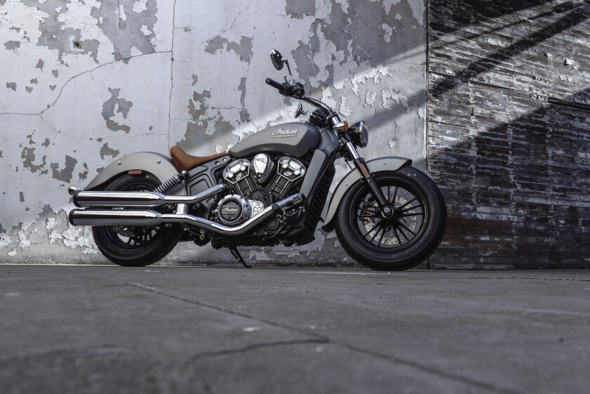 Indian has taken the wraps off its retro cool Scout, just in time for the annual Sturgis motorcycle round-up.