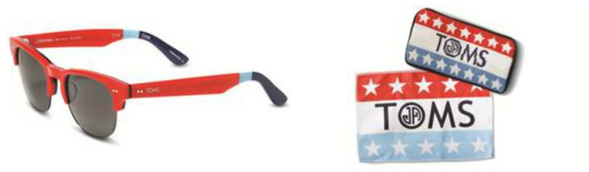 Cool collaboration: Toms x Jonathan Adler eyewear launches today