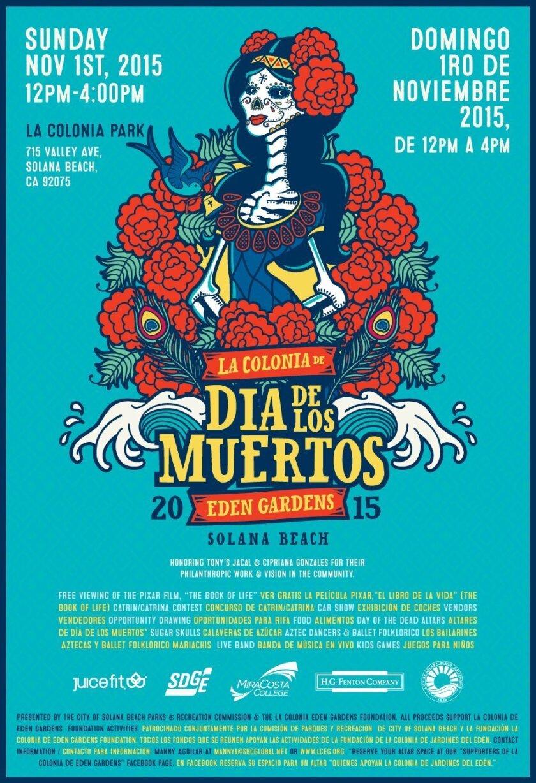 This will be Solana Beach's first-ever Dia de los Muertos event.