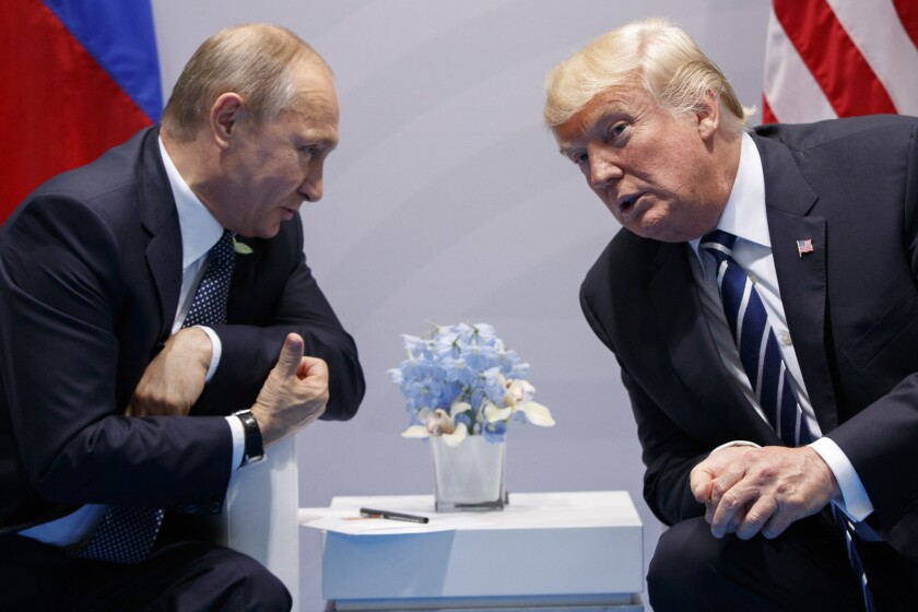 Letters to the Editor: Does 'the enemy of my enemy is my friend' explain Trump and Putin?