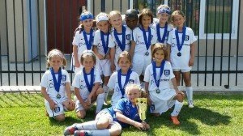 GU8 Academy Select and Coach Steveo went undefeated in four games to win the Coastal Classic in Carlsbad on Aug. 23-24.