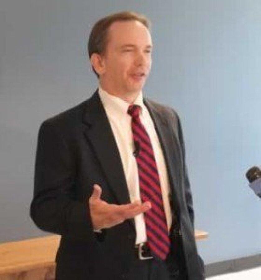 La Jolla Community Fireworks Foundation's attorney, Robert Howard. File