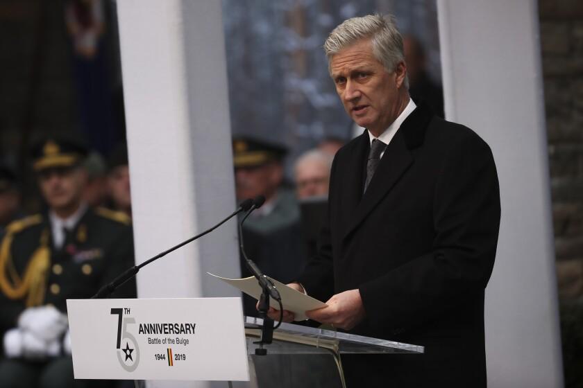 Belgium's King Philippe