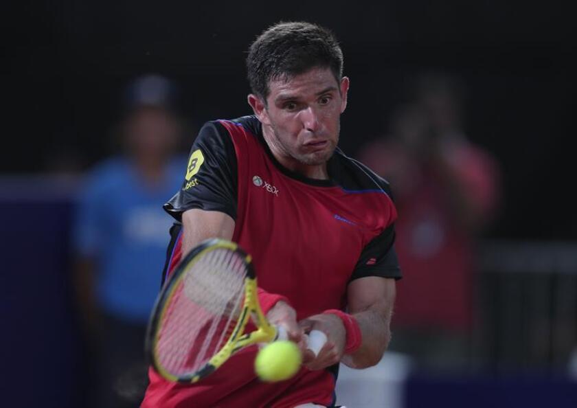 En la imagen, el tenista argentino Federico Delbonis. EFE/Archivo