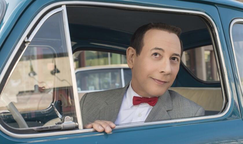 """Paul Reubens revisits his Pee-wee Herman character in """"Pee-wee's Big Holiday."""""""