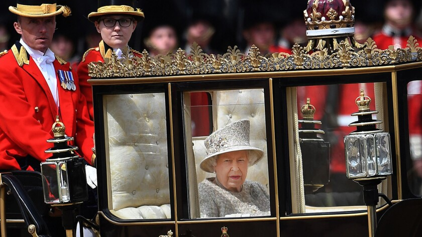 Trooping the Colour Queen's birthday parade in London, United Kingdom - 08 Jun 2019