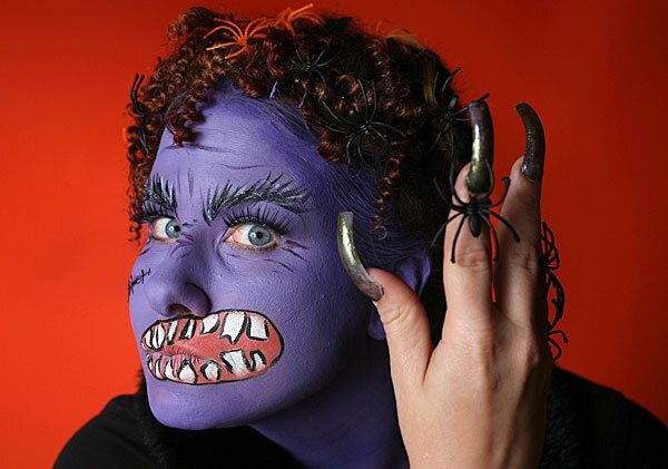 Make a unique and big impact for your Halloween costume with the help of some face paint