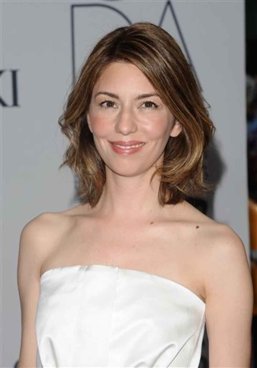 In this June 6, 2011 photo, Sofia Coppola attends the 2011 CFDA Fashion Awards at Alice Tully Hall in New York. Coppola is going back to her roots, getting married Saturday, Aug. 27, 2011, in the southern Italian town where her great-grandfather was born. Coppola is marrying Thomas Mars, lead singer of the French rock band Phoenix and the father of their two young daughters. (AP Photo/Peter Kramer)