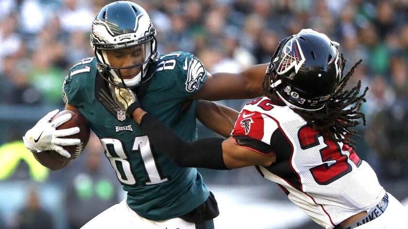 Eagles outlast Falcons, move to 5-4