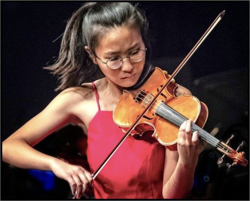 Violinist Susan Lee will perform at the Carmel Valley Library Oct. 9.