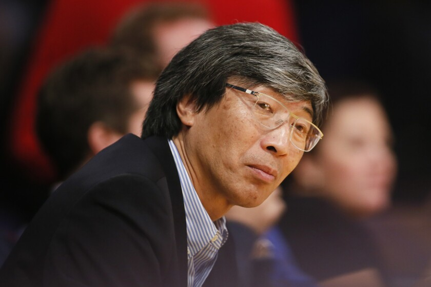 Dr. Patrick Soon-Shiong, a billionaire L.A. oncologist, is spearheading the Cancer MoonShot 2020 program.