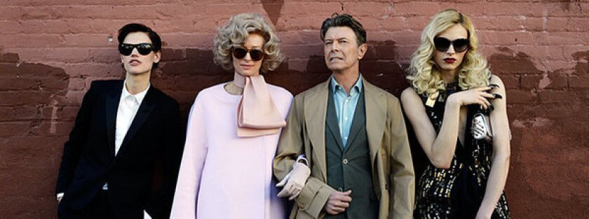 "David Bowie released a new single, ""The Stars (Are Out Tonight),"" accompanied by a video costarring Tilda Swinton."