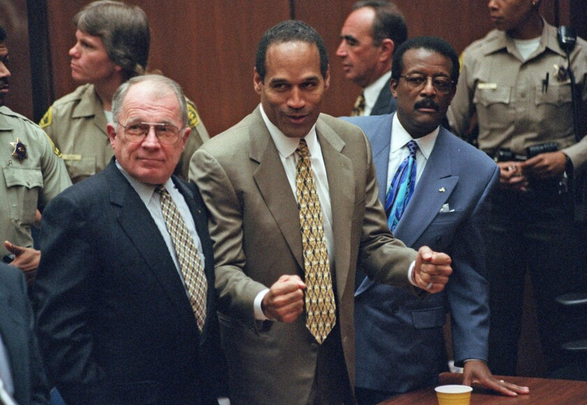 O.J. Simpson hears verdict