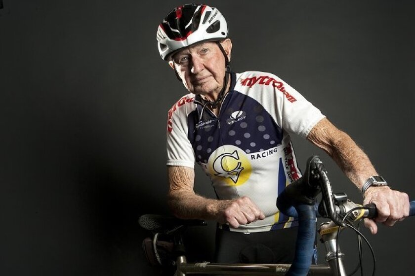 On Sunday, cyclist Gordy Shields will enter the California Masters 20K time trials -- and it is a good bet he'll set a record. He's in the 90-plus age group, which has never had an entry before in this competition. Shields, 93, already holds the national record for 90 year olds in the 20K class. He