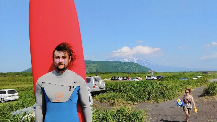 Surf hut owner Anton Morozov is determined to popularize surfing in Kamchatka, Russia, especially among younger people.