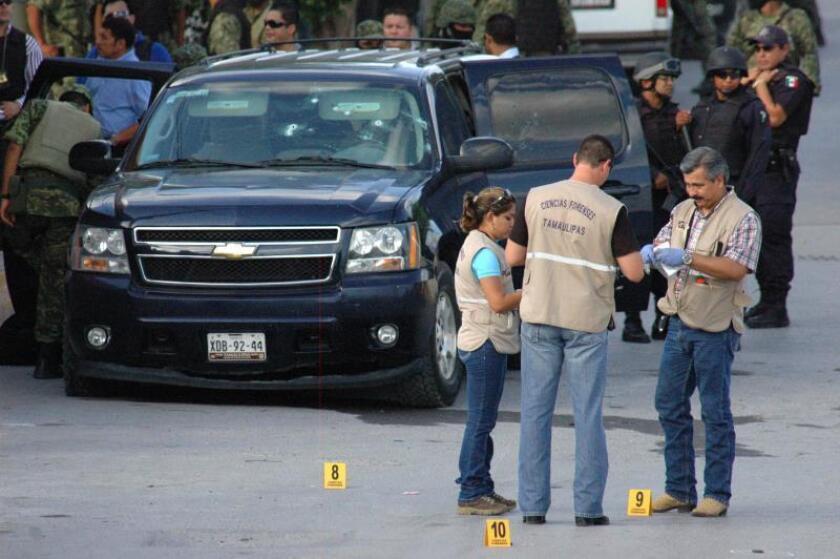 Mueren ocho presuntos narcotraficantes en un tiroteo con la Policía mexicana
