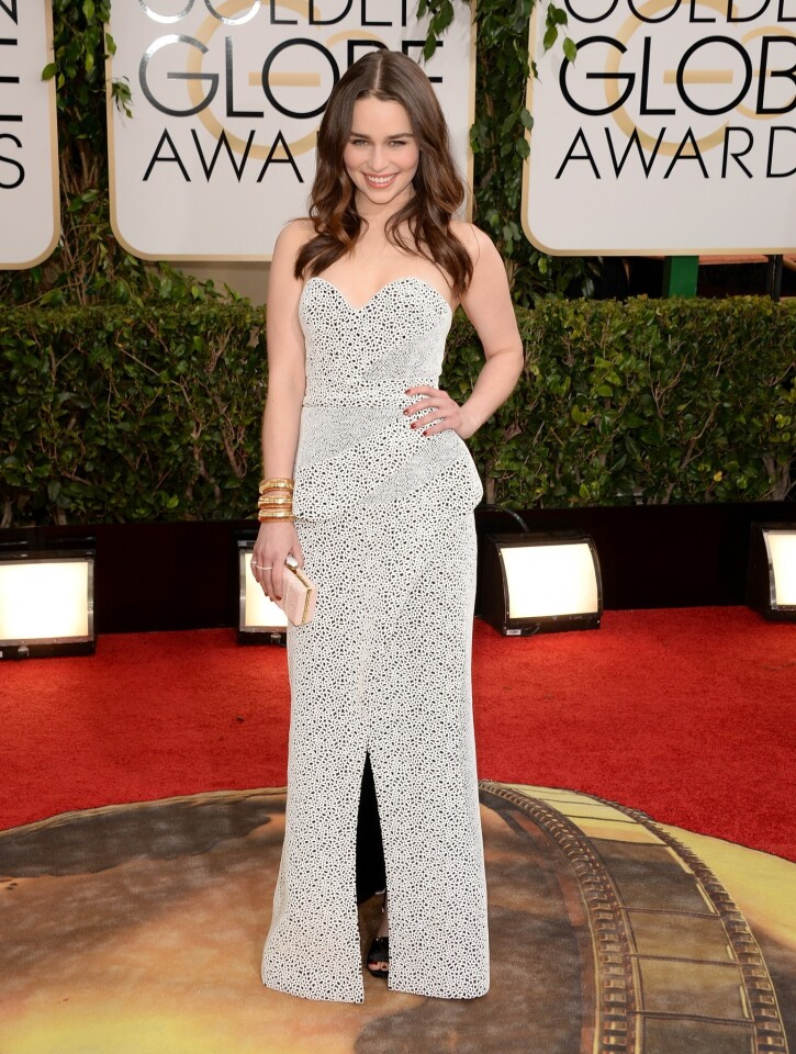 Golden Globes 2014 red carpet trends: White out
