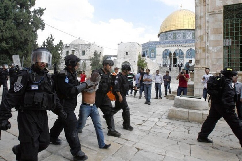Letters: A religious clash in Jerusalem