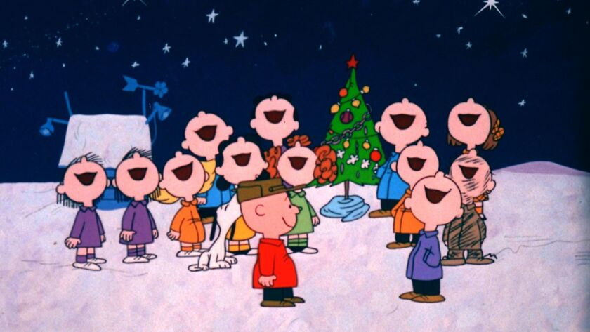 A CHARLIE BROWN CHRISTMAS – ABC SPECIAL MOVIE When Charlie Brown complains about the overwhelming ma