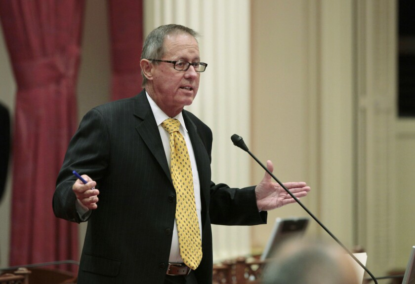 State Sen. Tom Berryhill (R-Modesto) was fined last year for laundering political contributions through two GOP county committees to his brother's campaign.