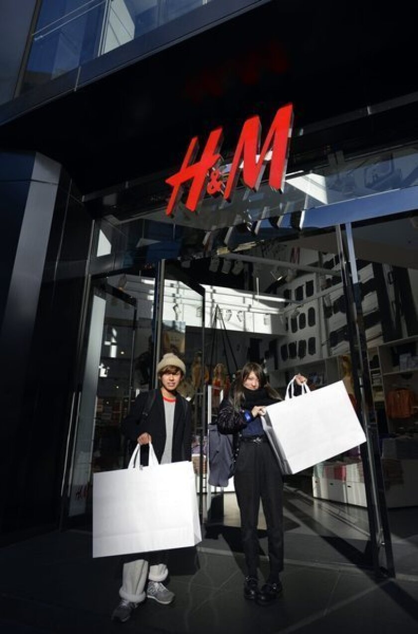 Calling all stained T-shirts: H&M; offers to recycle your clothes