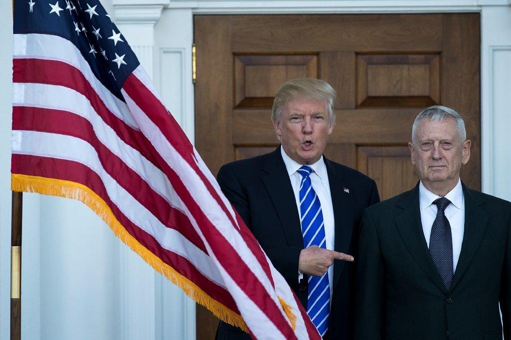 President-elect Donald Trump and retired Gen. James Mattis