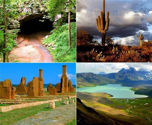 Looking for some peace and quiet during your travels this summer? We give you America's 20 least-visited National Monuments, taken from 2009 National Park Service data. From the thousands of petroglyphs at the El Morro monument in New Mexico to prehistoric caves at Tonto in Arizona, these hidden gems offer scenic views and a journey back in history. Before you visit, research each destination carefully. Some of these parks are remote and may be difficult to access. -- Kelsey Ramos and Deborah Netburn, Los Angeles Times