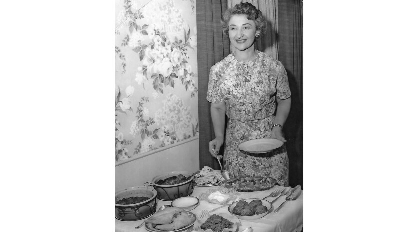 Marie Pashgian Barsam taught herself to prepare meals as a newlywed and later taught a cooking class