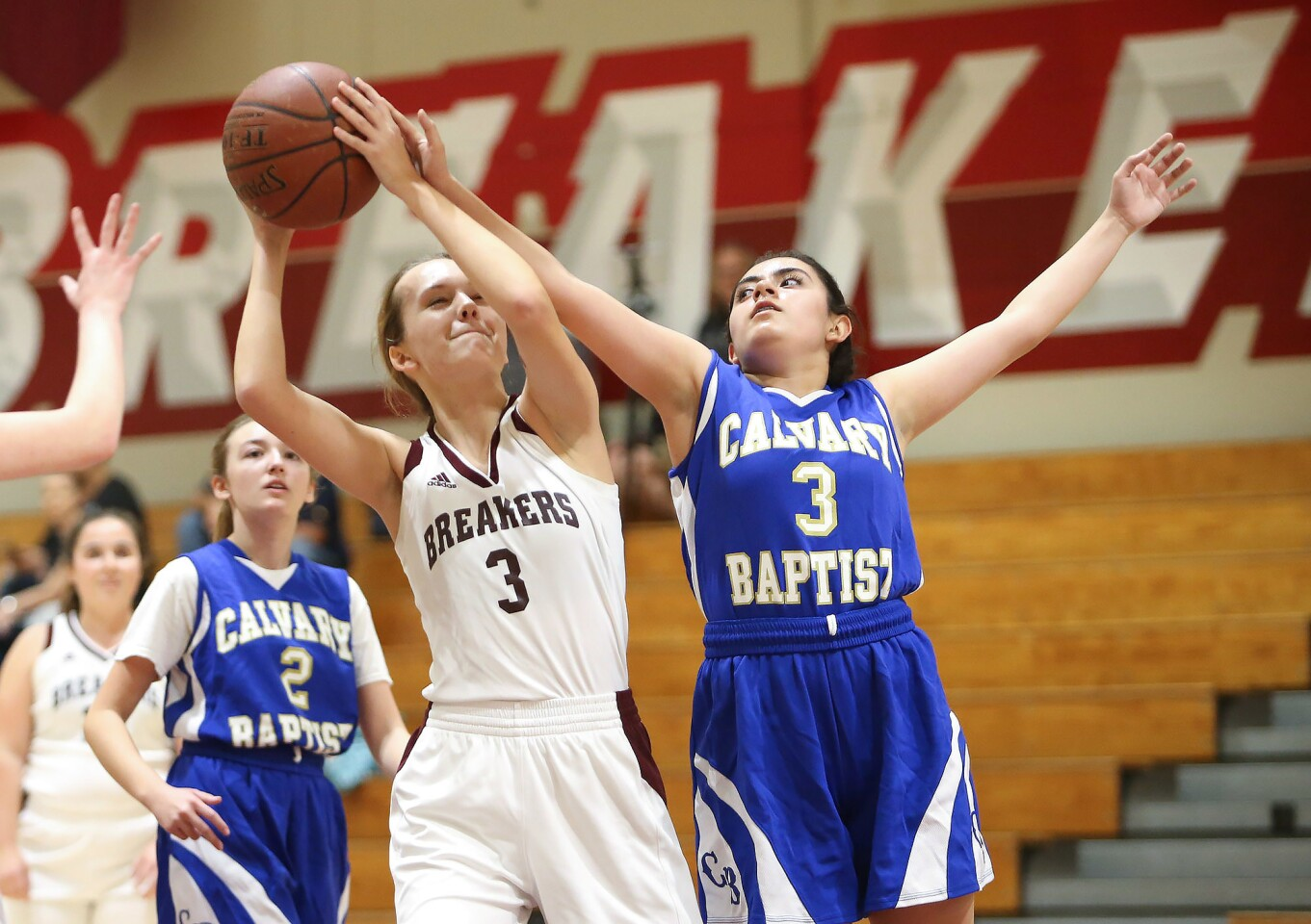 Photo Gallery: Laguna Beach vs. La Verne Calvary Baptist in girls' basketball