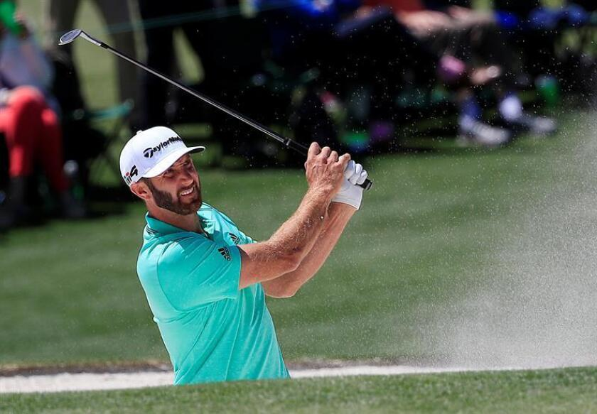 En la imagen, el golfista estadounidense Dustin Johnson. EFE/Archivo