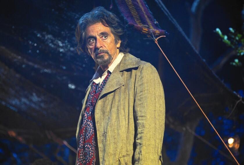 """Al Pacino in """"The Humbling."""""""