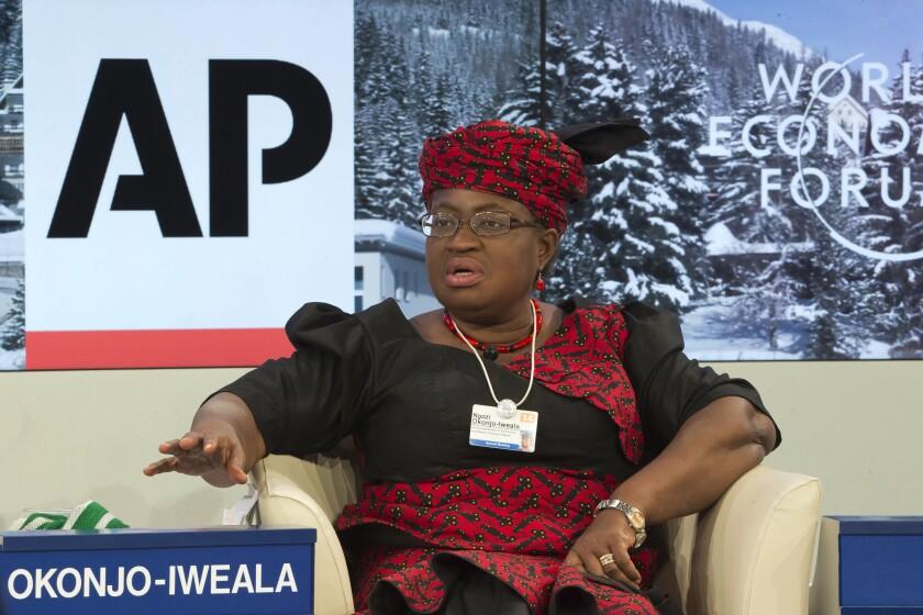 Nigerian Finance Minister Ngozi Okonjo-Iweala