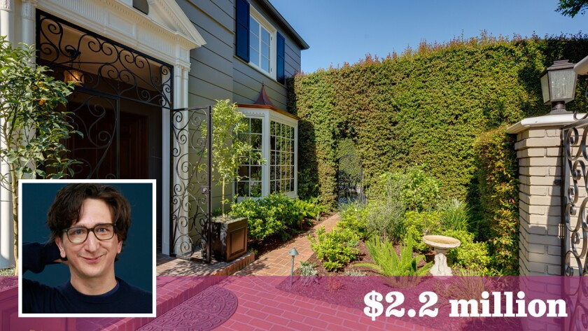 Actor, writer and comedian Paul Rust and his wife, writer Lesley Arfin, have bought a home in Los Feliz for about $2.2 million.