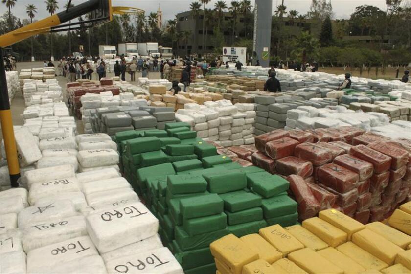 Ordenan a fiscalía mexicana divulgar datos sobre el decomiso de drogas