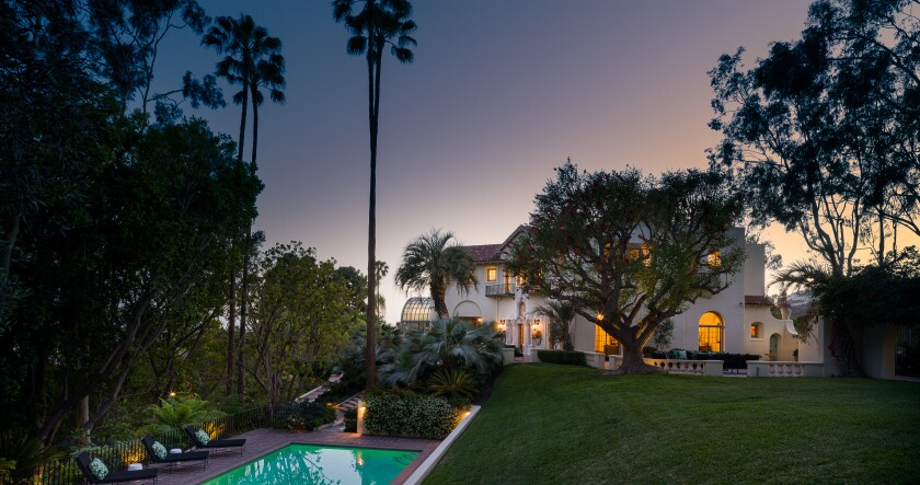 Built in 1920, the Italianate residence has been owned by comedian W.C. Fields and actress Lily Tomlin.