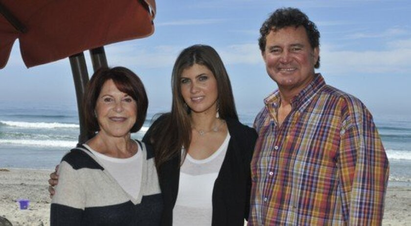 Jenny Craig, Sydney Weinger, Duayne Weinger (Photo: Rob McKenzie)